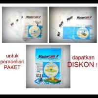 PROMO PAKET 2D BUKU BELAJAR MASTERCAM (3 BUKU + 3 DVD PANDUAN)