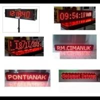TERLARIS RUNNINGTEXT / RUNNING TEXT / REKLAME TOKO / TULISAN BERJALAN