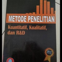 DISKON BUKU METODE PENELITIAN KUANTITATIF, KUALITATIF DAN R&D BEST