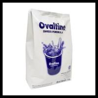 TERMURAH OVALTINE SWISS COKLAT MALT 1 KG IMPORT REG BPOM RI ORIGINAL