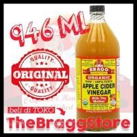 PROMO BRAGG APPLE CIDER VINEGAR 946 ML BEST SELLER!