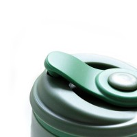 UCHII Silicone Folding Coffee Cup 350 ml - Gelas Lipat Travel Army