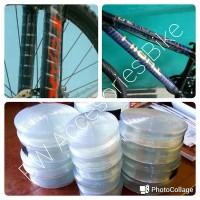 Teranyar-New Plastik Karet Pelindung Frame Fork Sepeda Murah