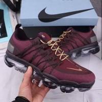 Sepatu Nike Air Vapormax Run Utility Premium Original / Merah Maroon