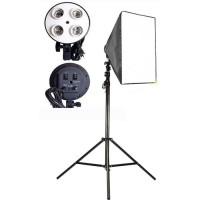 Softbox E27 Lampu Payung Lighting Video Reflektor Fotografi Studio 50x