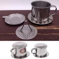 Long Cam Saringan Filter Saring Kopi Vietnamese Coffee Drip Pot 100ml