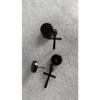 Anting Salib #015 / Model Tindik / Tura / Earrings