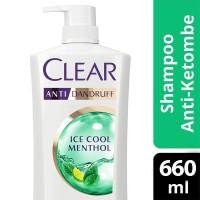 Clear Shampoo Anti Ketombe Ice Cool Menthol 660 ml / Clear Menthol