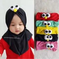 Jilbab Hijab Anak Elmo 0-3th - Kerudung anak Perempuan