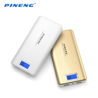 Pineng PN-999 20000 mah LCD PowerBank Power Bank 20,000 - Putih