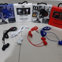 Headset PM-02 Earphone Mega Bass Handsfree PM02