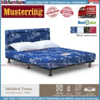 Multibed VIENNA MUSTERRING (set 180x200) Springbed MH6