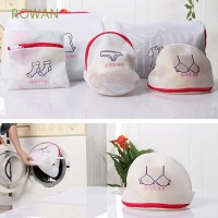 5Pcs Practical Thickened Zippered Bra Underwear Baskets Laundry Bag