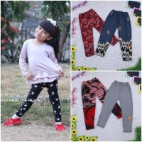 Legging Motif uk 5-6 th / Leging Anak Perempuan Celana Murah Fashion