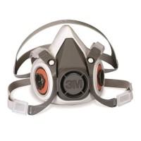 Masker 3M 6200 Reusable Respirator Original+6004