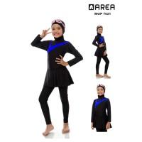 Baju renang anak muslimah SD 6-10 th cewek muslim polos