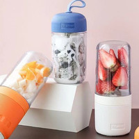 VITAMER BLENDER PORTABLE PREMIUM 400ML Blender Juice mini USB 4 mata