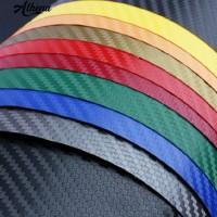 Carbon Fiber Vinyl Lembar Wrap Film Kertas Mobil Sticker