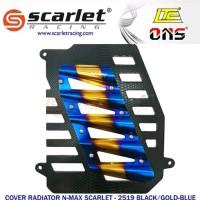 cover radiator 2tone scarlet motor nmax aerox baru