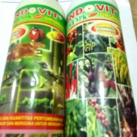 Pupuk Indovit plus/super Npk Organik, kemasan 500 ml