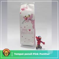 tempat pensil kotak susu pink panther