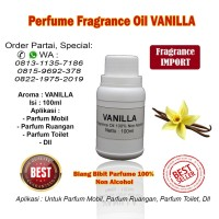 Bibit Biang Parfum Aroma Vanilla 100ml / Parfum Vanilla / Vanilla