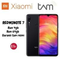 Xiaomi Redmi Note 7 4/64 Ram 4gb/64gb / Garansi Resmi TAM (Hitam )