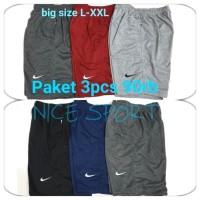 Celana pendek nike BiG SIZE JUMBO / Celana Kolor / Celana murah