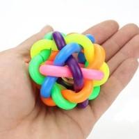 Mainan kucing anjing bola kerincing - ball rattle toys