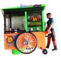 Mainan abang Gerobak dorong baterai Edukasi Anak DiasahToys