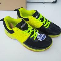 Sepatu Badminton apacs SP -607 neongreen/black