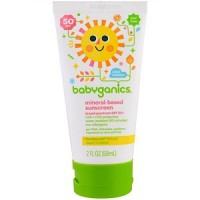 Babyganics Sunscreen Lotion SPF 50 SPF50 59ml Water Resistant Sunblock