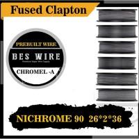 FUSED CLAPTON NI90 26*2+36 |CHROMEL - A | PERMETER