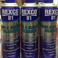 REXCO 81 CARBURATOR & INJECTOR CLEANER 500 ML aneka mesin