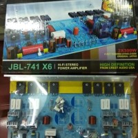 KIT POWER AMPLIFIER STEREO JBL-741 X6 TR TOSHIBA 600W