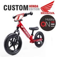 Strider 12 Sport Custom Honda RED Edition - Balance Bike Push Bike