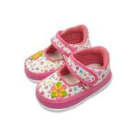 Sepatu Bayi Anak Perempuan Trendy Lembut Bunyi Decit / CK01 Bunga
