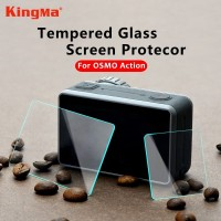 Tempered Glass Screen Protector for DJI Osmo ACTION Camera 3pcs Screen
