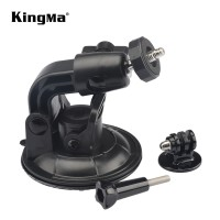 Suction Cup Ball Head 9CM Action Cam dengan Adapter Mount + Screw