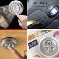 Terpopuler Stick Touch Lamp Stick And Click Lampu Mini Portabel