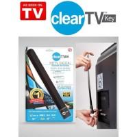 Antena TV Indoor Digital Clear TV Key HDTV - Full HD - HITAM