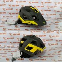Helm Polygon Ramp Matte Black Yelow