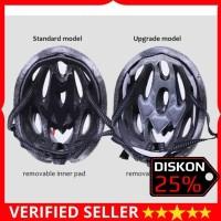 TERMURAH Helm Sepeda - Cycling Helmet EPS Foam PVC Shell - x10 - Putih