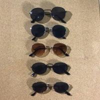 Kacamata Hitam Vintage Retro Unisex