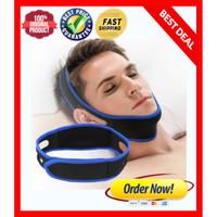 Sabuk Anti Ngorok NYAMAN / ANTI SNORE Chin Strap / SNORING STOPPER ORI
