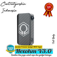 (Centralgarskin) Garskin Hexohm V3 carbon transparan