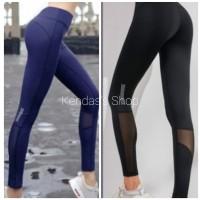 Legging Sport Celana Olahraga Wanita Panjang Transparan Bawah