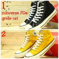 Sepatu Converse 70s Pria Wanita Couple Casual Grade Original (37-43)