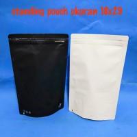 standing pouch ukuran 18x29 cm