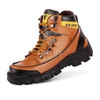 Sepatu Boots Ujung Besi Pria Lapangan Biker Caterpillar Argon Terlaris